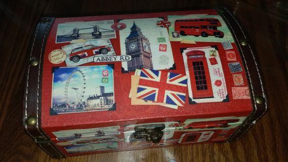 England 英倫風 儲物盒 儲物箱