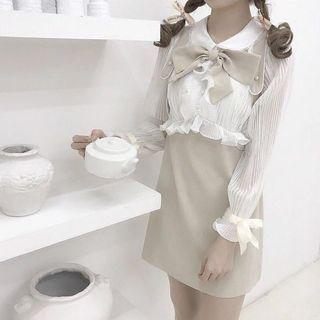 Brand new lolita dress in cream