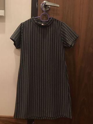 🚚 basic stripes dress