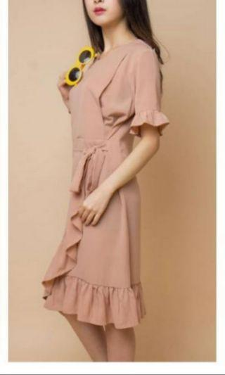 Maternel nursingwear dress cream
