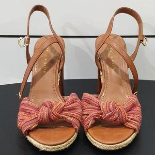 Red Knot Heels by Charles & Keith