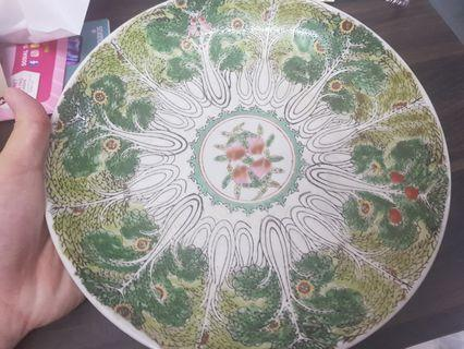 Vintage Plate Guang Xu Period