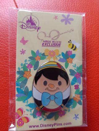Disney 正版 木偶襟章