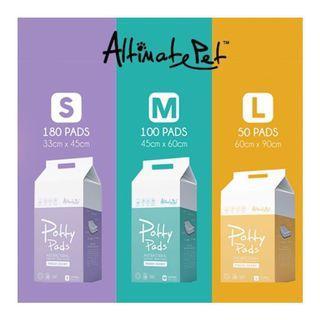 ALTIMATE PET POTTY PADS S/M/L