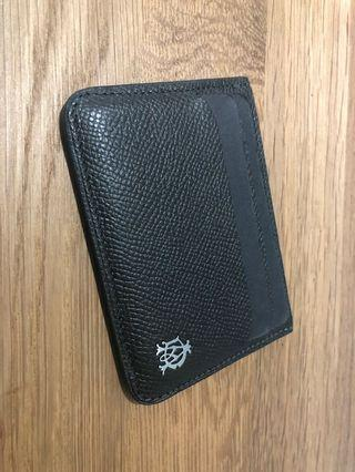 Dunhill Leather Credit Card Holder