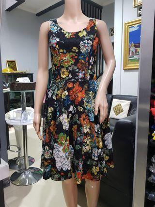 Flower Dress brukat