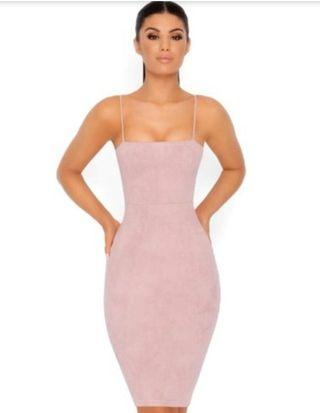 Mauve Bodycon Dress