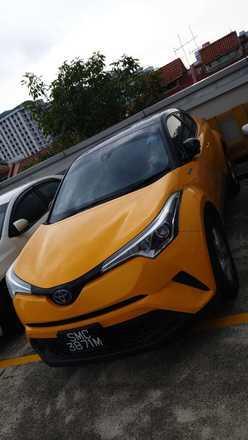 CHR hybrid for rent