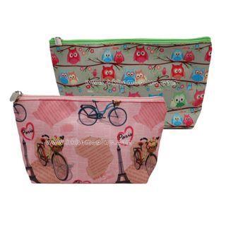 Elaine: 貝殼 拉鍊 化妝袋 化裝包 隨身袋 便攜 洗漱包 收納包 旅行包 Cosmetic bag