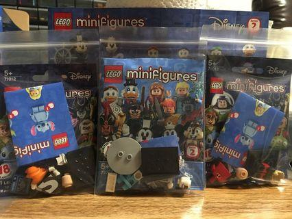 LEGO 71024 Frozone & 71012 Mr. Incredible + Syndrome