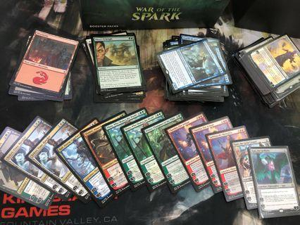 🚚 Magic the Gathering War of the Spark MTG spark