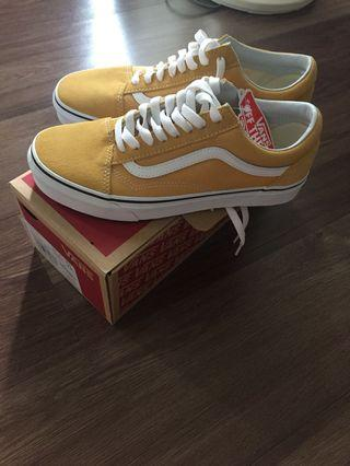 Vans old skool yellow / mustard (ochre)