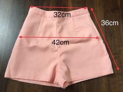 Peach Hot Pants #BAPAU