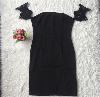 dress hitam xl