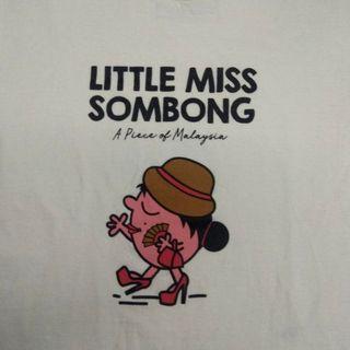 Local artist t shirt little miss Sombong by Apom.com