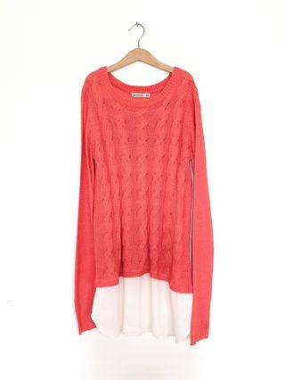 Stradivarius longsleeves knit top