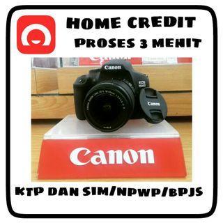 Kamera Canon 1500D Spesial Promo Cicilan 0% dan Free 2x Cicilan