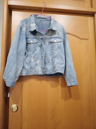 藍色牛仔外套