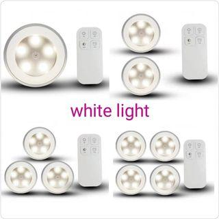 LED Light with Remote (NO drilling require!!)