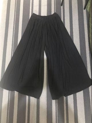 Kulot rok hitam fit to XL