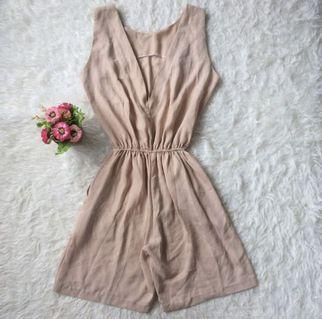 Jumpsuit brown