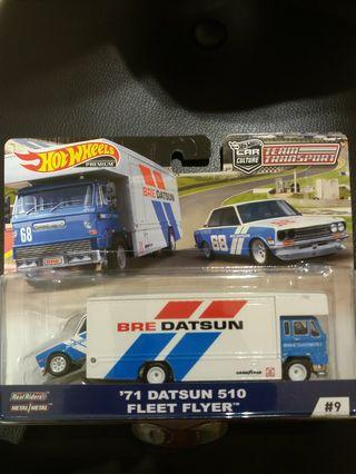Hot wheels Team Transport Datsun 510