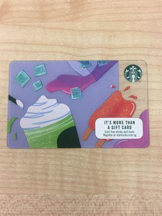 Starbucks Card Summer 2019