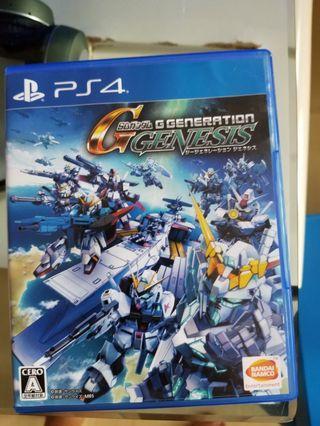 PS4 SD GUNDAM G GENERATION