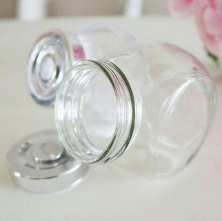 BN Glass Jar with Lid