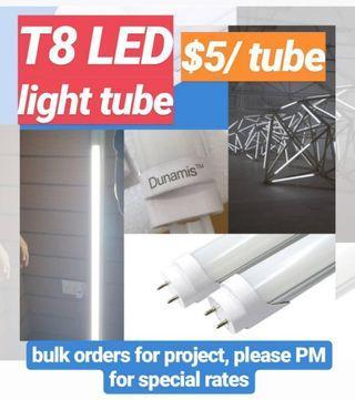 T8 LED TUBE 10W 2ft