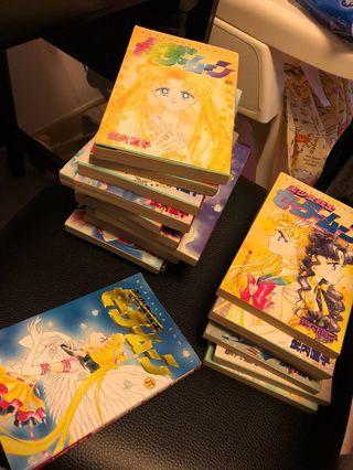 日版美少女戰士漫畫第1至18期(全套)
