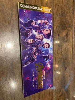 Avengers 4 紀念票 (現票)