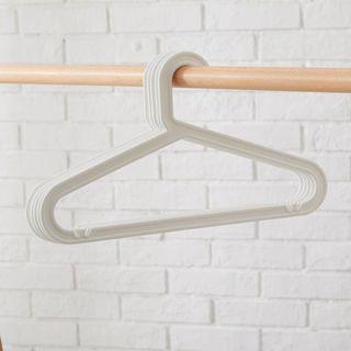 Look like Ikea Hangers - White color
