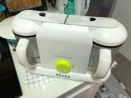 Beaba Babycook Pro Duo Green White