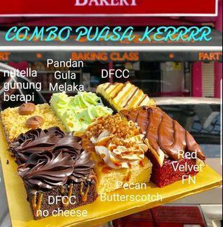 Combo Puasa Kerr (6 jenis kek)