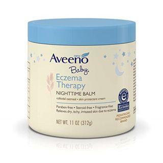 Aveeno Baby Eczema Therapy Nighttime Balm 11 Oz (312g)