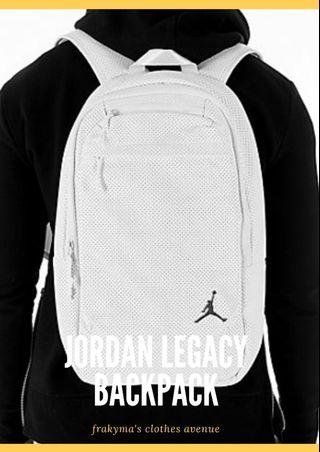 24a2657ed2efbc original Jordan Legacy Backpack