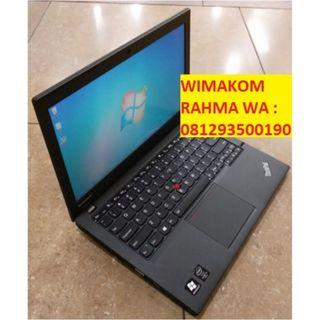 Murah Laptop Second Lenovo Thinkpad X240 I5 Gen4 Ram 8gb SSD 180gb 12""