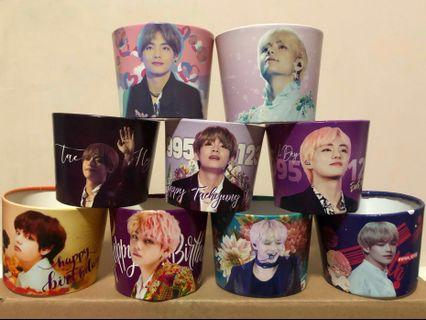 BTS Taehyung Cup Holder/Cup Sleeves