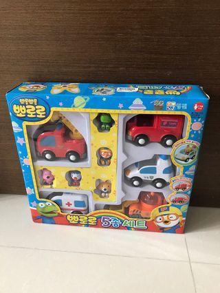 BN Pororo Mini Car Set