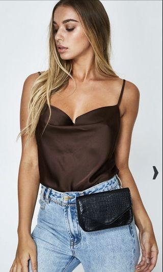 Cowl Neck Crop
