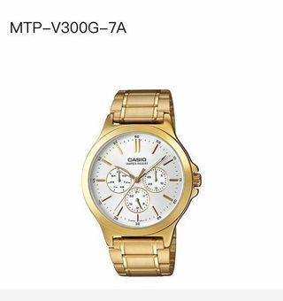 🍎wholesale Price-Original Casio Men Watch MTP-V300G-7A