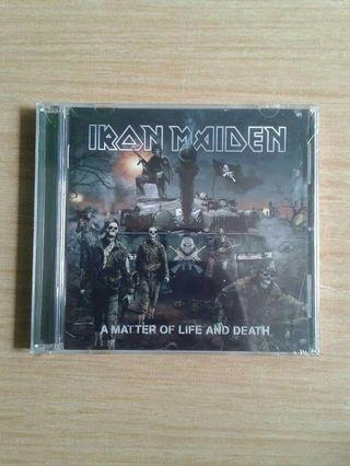 CD IRON MAIDEN - A Matter Of Live And Death