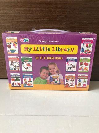 BN Young Learner's My Little Library (Set of 10 Board Books) / Kids Books