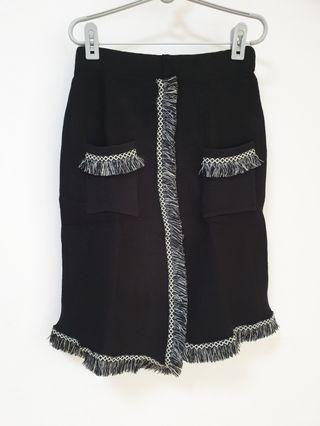 Brand New Fringe Skirt (Free Size)