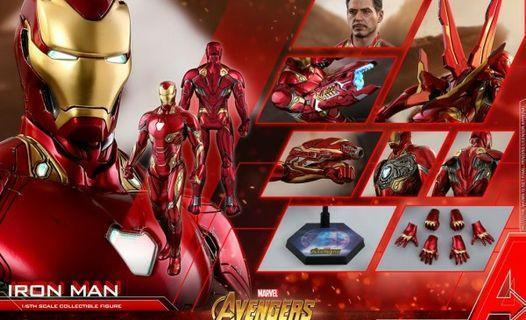 Hot toys ironman mark L 50 30/4/19 訂單一張