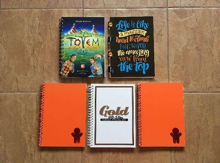 Unique Notebooks - #Under9
