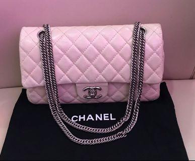 Chanel medium d/flap beige 12xxxxx series