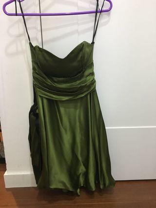 Mara Hoffman Forest Green Evening/Prom Dress XS