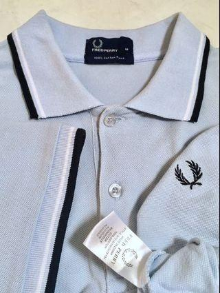 Fred Perry Twin Tipped Soft Blue